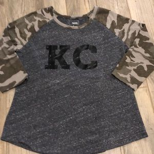 KC Camo Shirt - Brand new/Custom made!